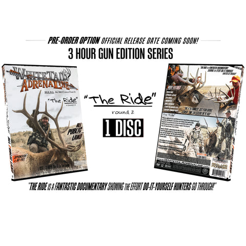 "PRE-ORDER OPTION ""THE RIDE"" Round 2 DVD"