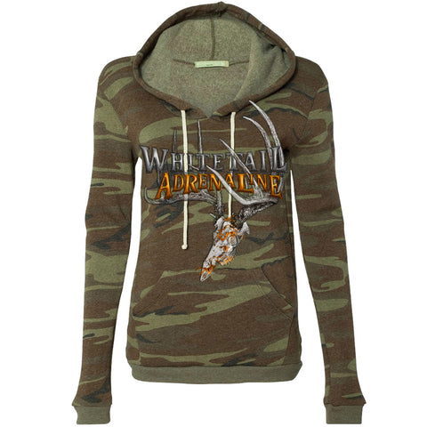 Weathered Camo Heavyweight Hoodie | 200 Buck