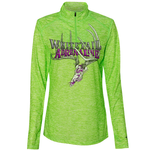 Ladies Badger Lime Pullover