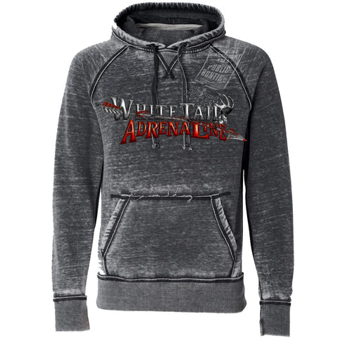 Smoke Burnout Hoodie | Sign with Arrow
