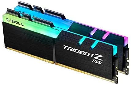 G.Skill 64GB DDR4 TridentZ RGB 4000Mhz PC4-32000 CL18 1.40V Dual Channel Kit (2x32GB)