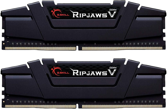 Ripjaws V Series 64GB (2 x 32GB) DDR4 PC4-32000 4000MHz Intel XMP 2.0 Desktop Memory Model F4-4000C18D-64GVK