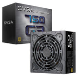EVGA SuperNOVA 750 G3, 80 Plus Gold 750W  Compact 150mm Size, PSU 220-G3-0750-X1