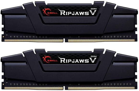 G.Skill 16GB DDR4 PC4-32000 4000MHz Ripjaws V Black CL18 Dual Channel kit (2x8GB) 1.35V