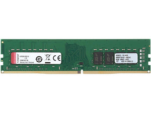 Kingston ValueRAM 16GB (1 x 16GB) DDR4 2666MHz DRAM (Desktop Memory) CL19 1.2V DIMM (288-pin) KVR26N19D8/16