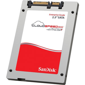 "SanDisk CloudSpeed Eco SDLFNDAR-480G-1HA2 2.5"" 480GB SATA III cMLC Enterprise Solid State Disk"