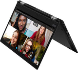 "Lenovo ThinkPad X13 Yoga Gen 1 20SX - Flip Design - Core i5 10210U / 1.6 GHz - Win 10 Pro 64-bit - 8 GB RAM - 256 GB SSD TCG Opal Encryption 2, NVMe - 13.3"" IPS Touchscreen 1920 x 1080 (Full HD)"