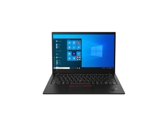 Lenovo Laptop ThinkPad X1 Carbon Gen 8 20U9001NUS Intel Core i5 10th Gen 10210U (1.60 GHz) 8 GB Memory 256 GB PCIe SSD Intel UHD Graphics 14