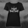 LADIES BLACK CASCADE ERA T-SHIRT