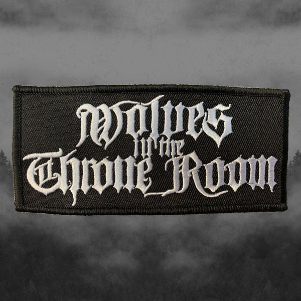 GOTHIC LOGO EMBROIDERED PATCH
