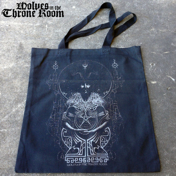 CELESTITE BLACK TOTE BAG