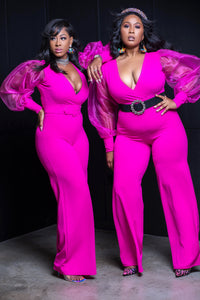 Pink Radiance Jumpsuit - Aundrea Love Collection