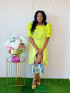 Jackee Lime Top - Aundrea Love Collection