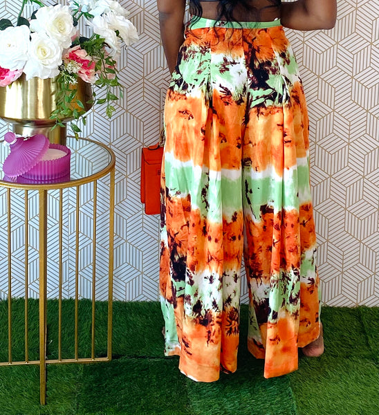 Sunset Palazzo Pants - Aundrea Love Collection