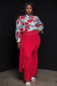 Wrap Trouser Pants - Aundrea Love Collection