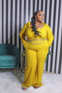 Mustard Lounge Set - Aundrea Love Collection