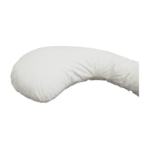 Body Pillow U-Shaped Extra Light Full Body Maternity Pillow White