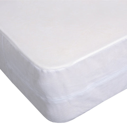 Box Spring Cover Waterproof & Bed Bug Proof Zippered Protector