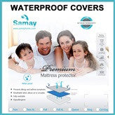 Mattress Cover Waterproof Hypoallergenic Premium Protector