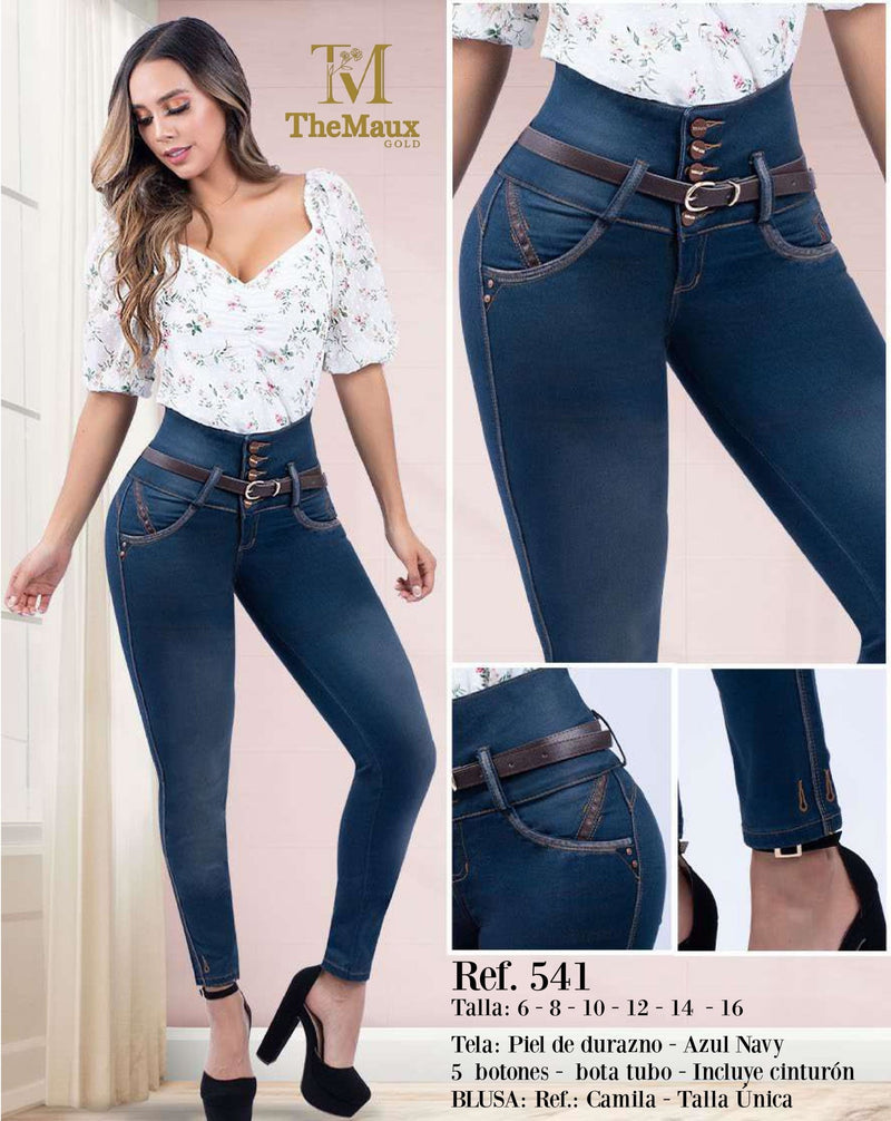 541 100% Authentic Colombian Push Up Jeans by Maux Jeans - JDColFashion