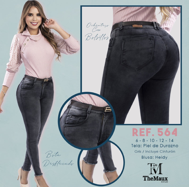 564 100% Authentic Colombian Push Up Jeans by Maux Jeans - JDColFashion