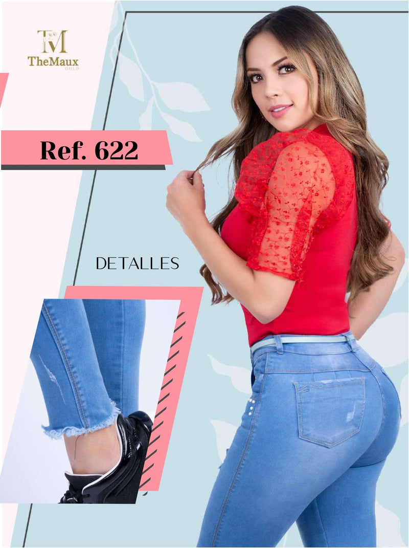 622 100% Authentic Colombian Push Up Jeans by Maux Jeans - JDColFashion