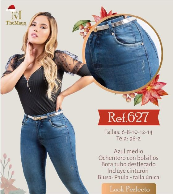 627 100% Authentic Colombian Push Up Jeans by Maux Jeans - JDColFashion