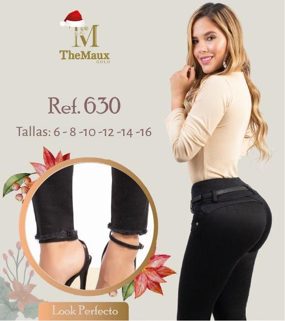 630 100% Authentic Colombian Push Up Jeans by Maux Jeans - JDColFashion