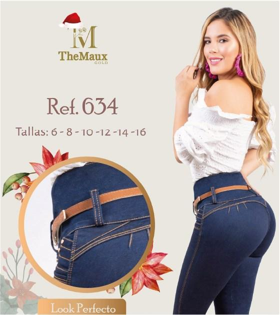 634 100% Authentic Colombian Push Up Jeans by Maux Jeans - JDColFashion