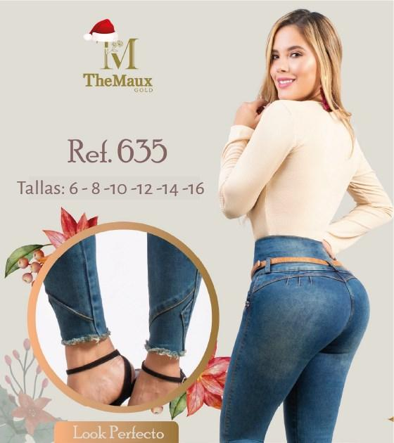 635 100% Authentic Colombian Push Up Jeans by Maux Jeans - JDColFashion
