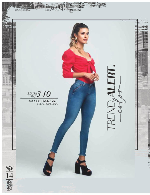 689 100% Authentic Colombian Push Up Jeans by Carisma Jeans - JDColFashion