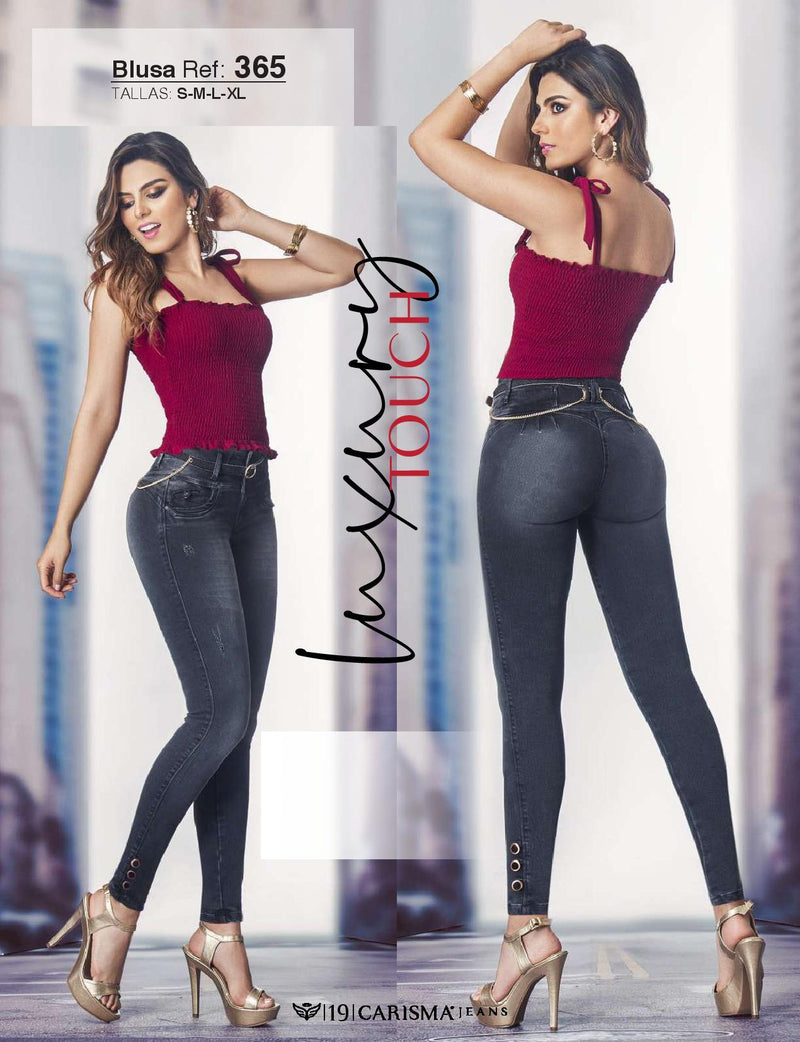 730 100% Authentic Colombian Push Up Jeans by Carisma Jeans - JDColFashion