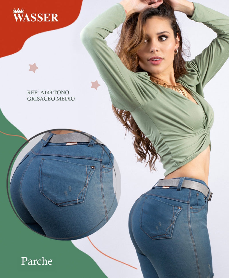 A143 100% Authentic Colombian Push Up Jeans - JDColFashion