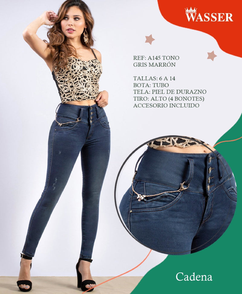 A145 100% Authentic Colombian Push Up Jeans - JDColFashion