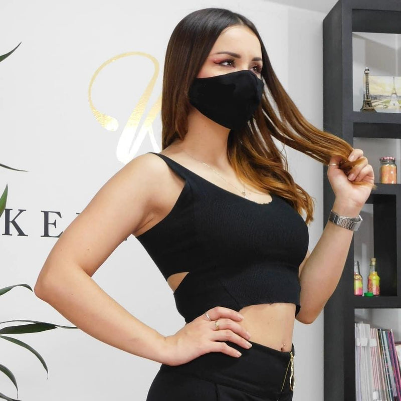Black Face Mask Anti-Fluid - JDColFashion.com