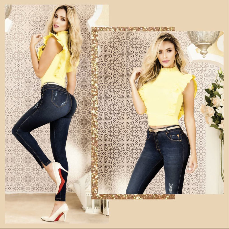 GR143 100% Authentic Colombian Push Up Jean - JDColFashion