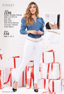 PRE-ORDER 1186 100% Authentic Colombian Push Up Jeans by B'violet - JDColFashion