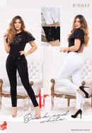 PRE-ORDER 1192 100% Authentic Colombian Push Up Jeans by B'violet - JDColFashion