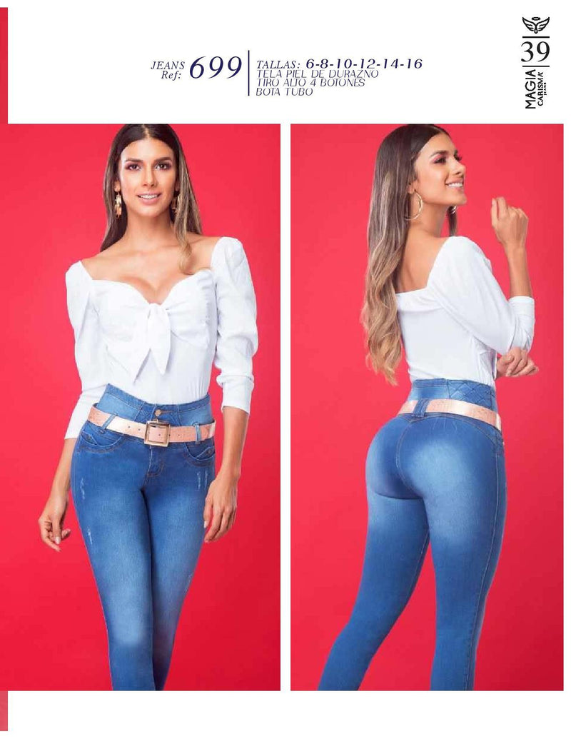 PRE-ORDER 699 100% Authentic Colombian Push Up Jeans by Carisma Jeans - JDColFashion
