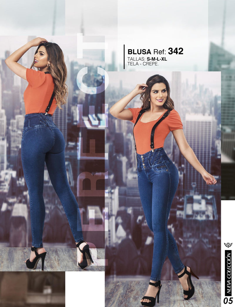 PRE-ORDER 701 100% Authentic Colombian Push Up Jeans by Carisma Jeans - JDColFashion