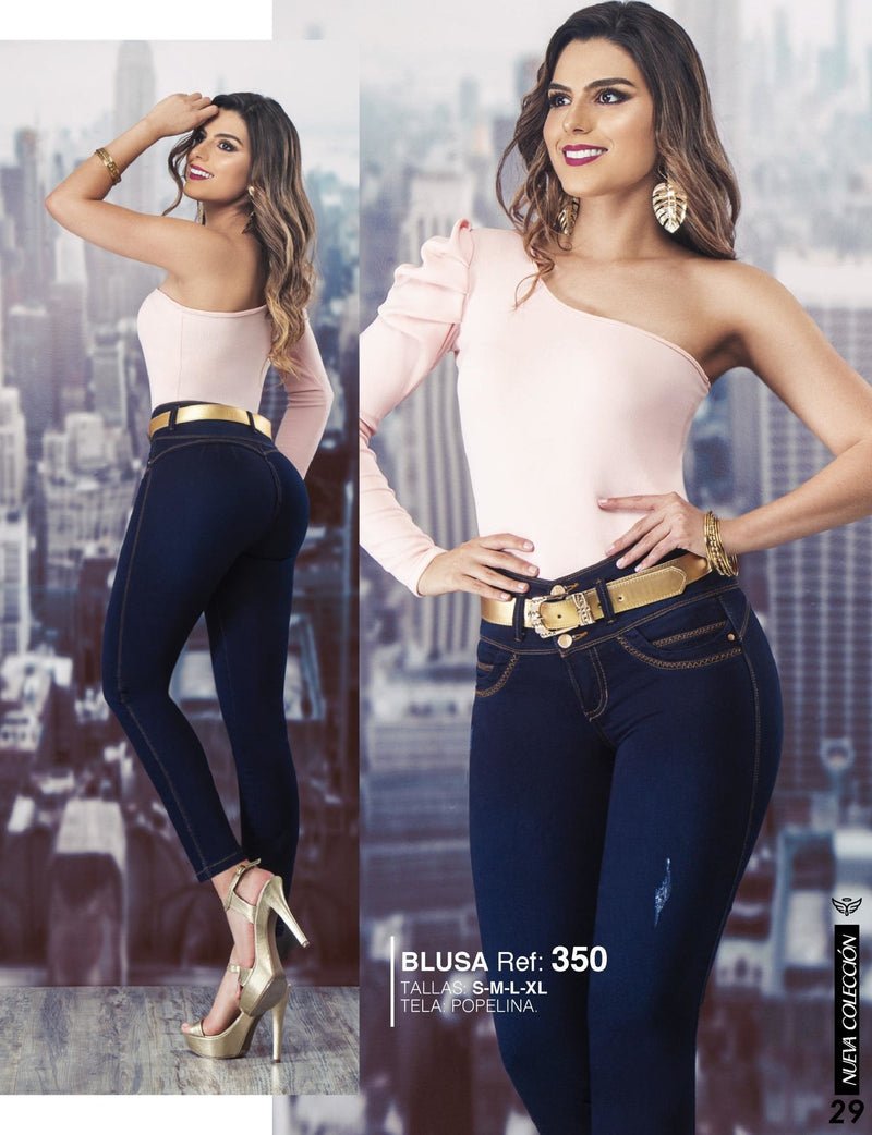 PRE-ORDER 713 100% Authentic Colombian Push Up Jeans by Carisma Jeans - JDColFashion