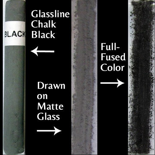 Glassline Chalk Black