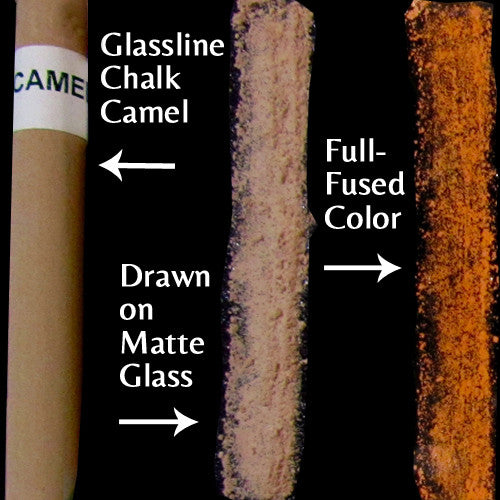 Glassline Chalk Camel