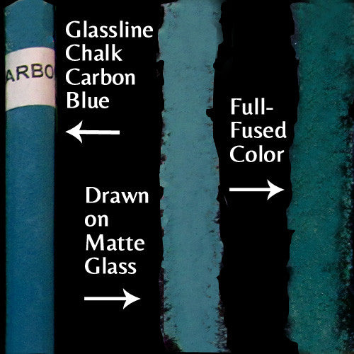 Glassline Chalk Carbon Blue
