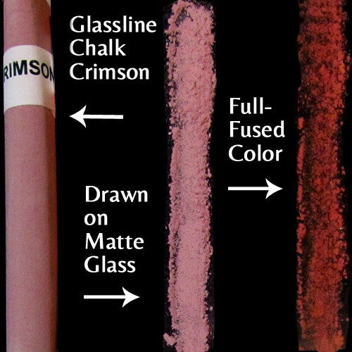 Glassline Chalk Crimson