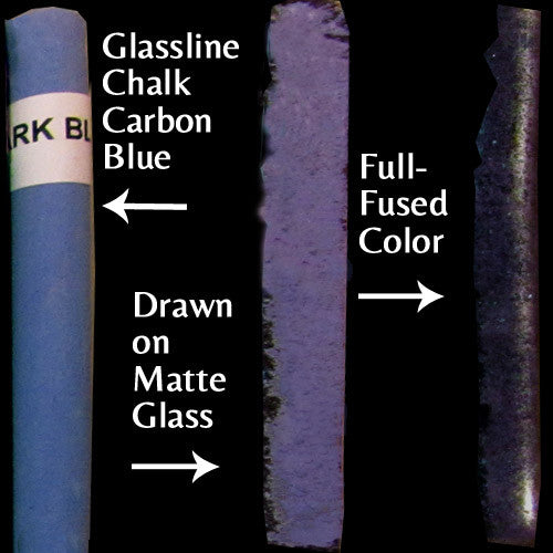 Glassline Chalk Dark Blue