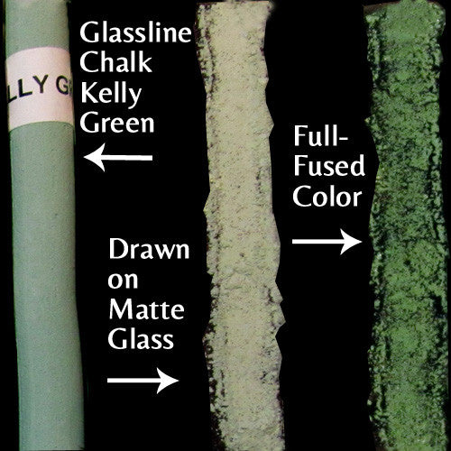 Glassline Chalk Kelly Green