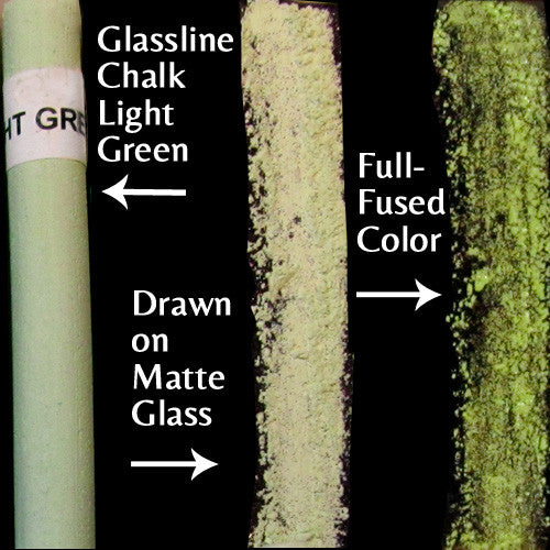 Glassline Chalk Light Green
