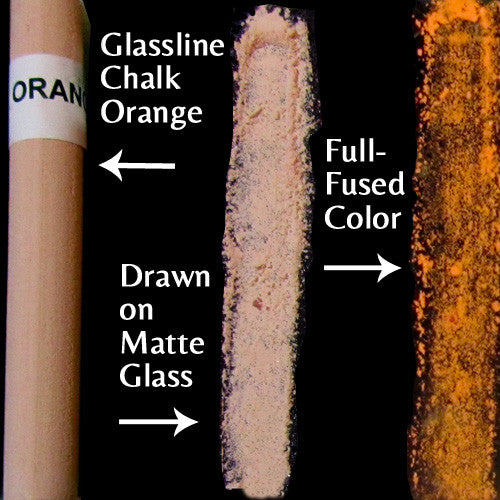 Glassline Chalk Orange