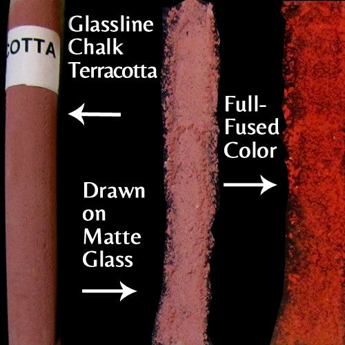 Glassline Chalk Terracotta
